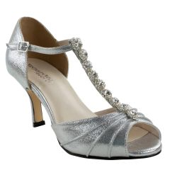 Touch Ups Shoe in Silver