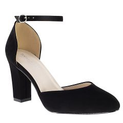 Amanda Black Lamy Open Toe Womens Evening Pumps - Shoes from Touch Ups by Benjamin Walk