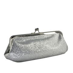 Farah Silver Glitter Womens  Handbag from Touch Ups by Benjamin Walk