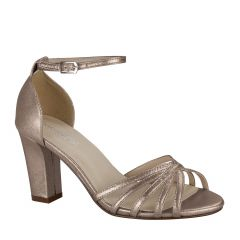 Lauren Champagne Womens Open Toe Evening|Prom Sandal -  Shoes from Touch Ups by Benjamin Walk
