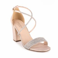 Mackenzie Champagne Womens Open Toe Evening|Prom Sandal -  Shoes from Paradox London by Benjamin Walk
