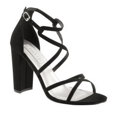 Peyton Black Lamy Open Toe Womens Evening Sandals - Shoes from Touch Ups by Benjamin Walk