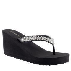 Shelly Black EVA Open Toe Womens Destination / Evening Platform / Sandals - Shoes from Touch Ups by Benjamin Walk